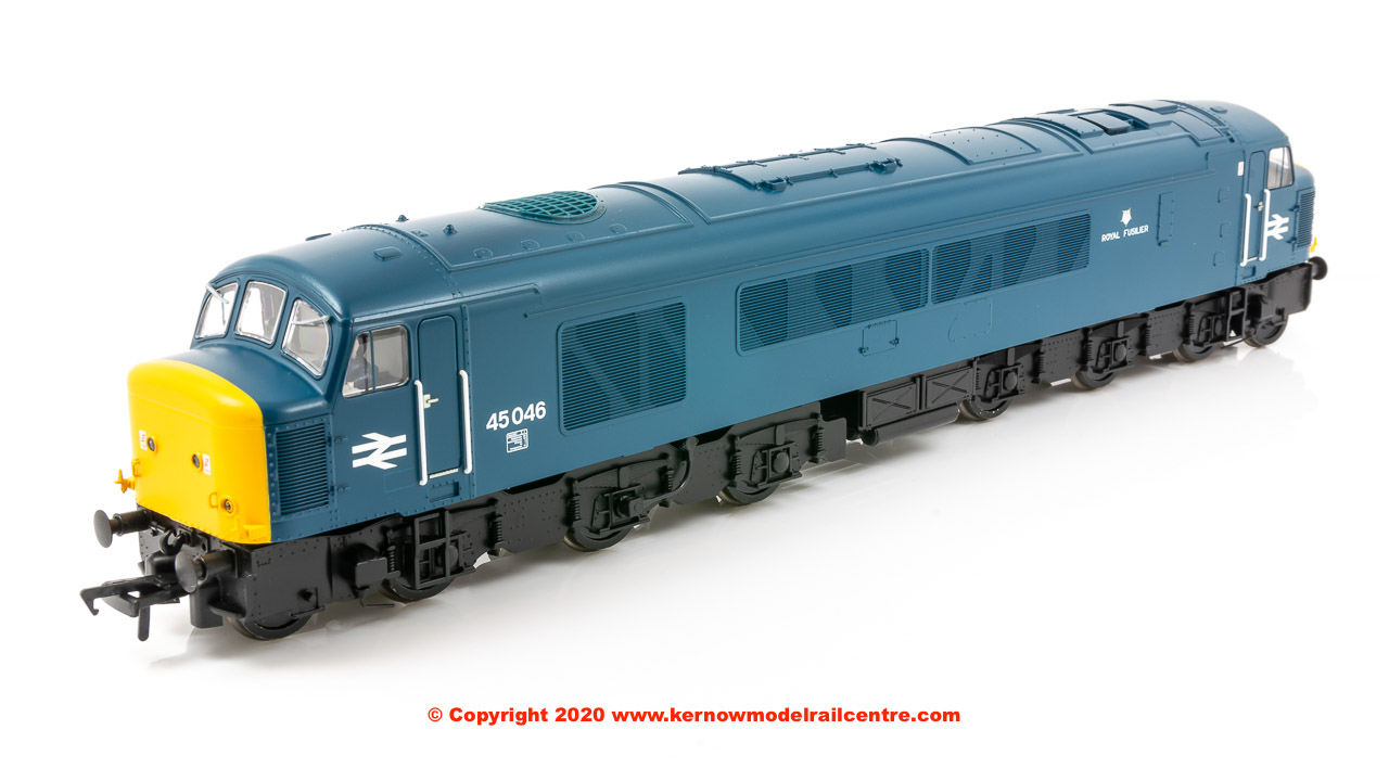 "32-686NFSF Bachmann Class 45/0 Diesel Locomotive number 45 046 named ""Royal Fusilier"" in BR Blue livery"